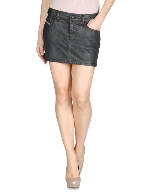 sembrono  diesel 2013 fall winter collection of skirts models 2014 diesel models of skirts and