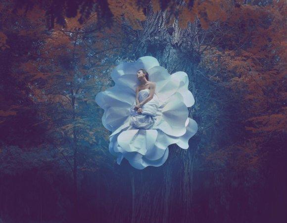 katerina plotnikova fotografia surreal mulheres natureza país das maravilhas Desabrochar