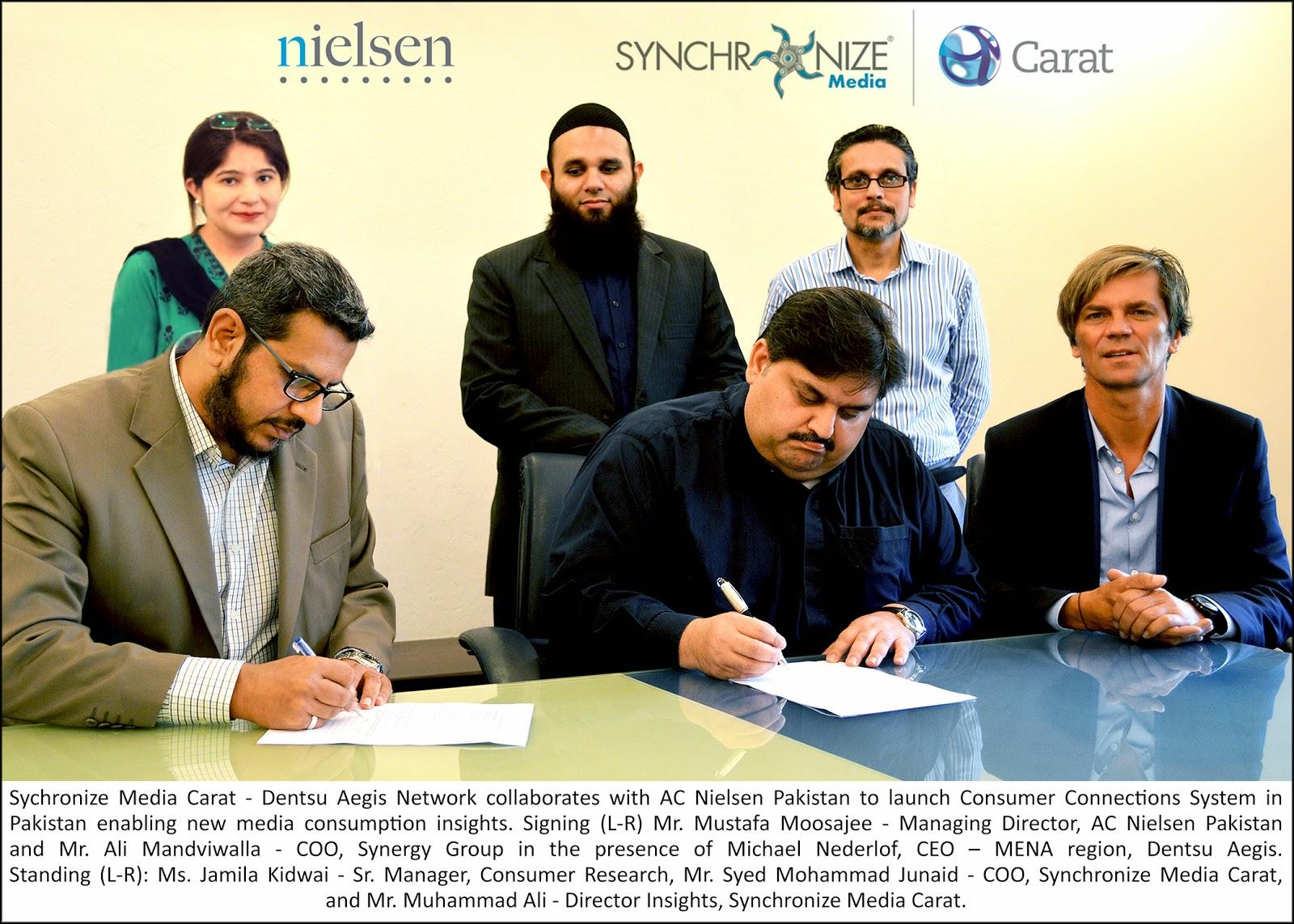 Synchronize & AC Neilsen CCS Pakistan