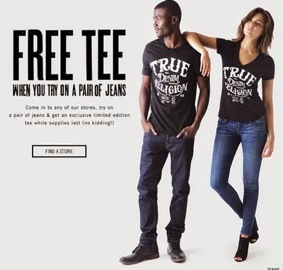 True religion coupon code