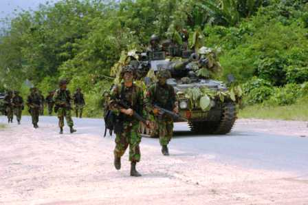 Batalyon 514 Raider Latgab 2012