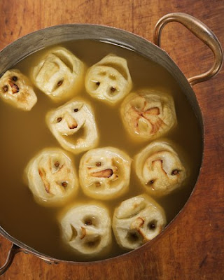 Halloween Party, Shrunken Head Cider, Apple Punch Pinterest