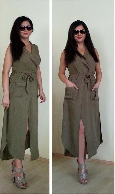 Khaki dress, Dress,