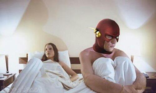 Flash Gordon, el hombre más rápido. Para todo.