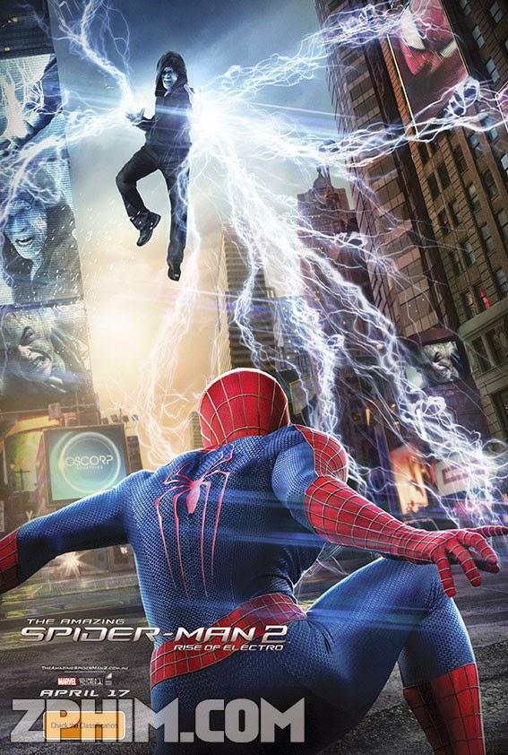 Người Nhện Siêu Đẳng 2 - The Amazing Spider-Man 2: Rise of Electro (2014) Poster
