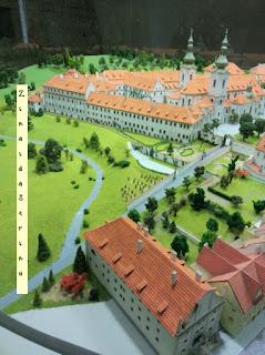 praga-manastirea-strahov-macheta