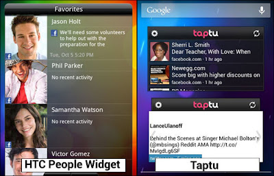 HTC People Widget Alternatives