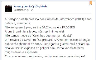 Site da PM do Rio é atacado por hackers e dados de 50 mil policiais vazam Anoncyber