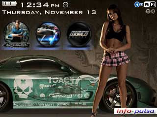 NFS Most Wanted - BlackBerry Theme