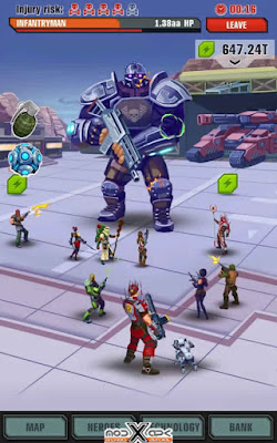 Download Evolution Heroes of Utopia v1.1.5 Apk Unlimited Money