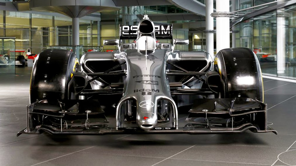 McLaren Formula 1 Mercedes MP4 29