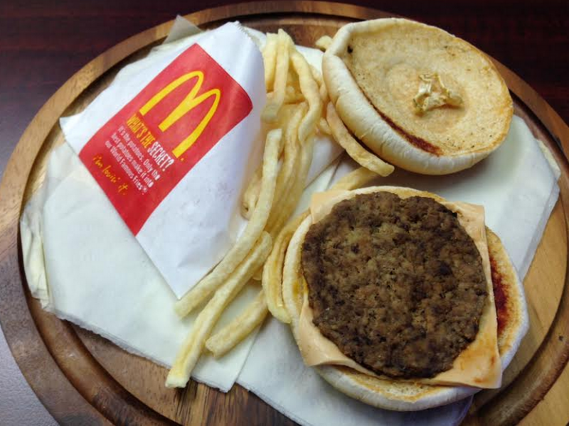 A Two-Year-Old McDonald's Burger Looks Disgustingly Fresh