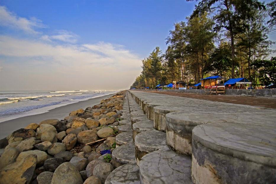Gambar Pantai Panjang Bengkulu