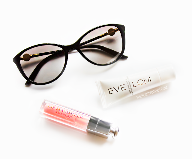 Versace sunglasses Eve Lom handcream