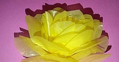 Nove Hasanah Cara Membuat Bunga Zinnia Dari Kantong Kresek