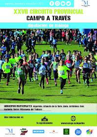 XXVII Circuito Provincial de Campo a través 2017-18 'Diputación de Málaga'