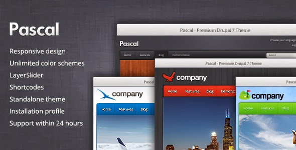 Drupal 7 Multipurpose Template