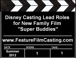 Disney Super Buddies Auditions