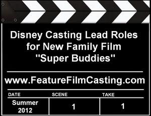 Disney Super Buddies Auditions