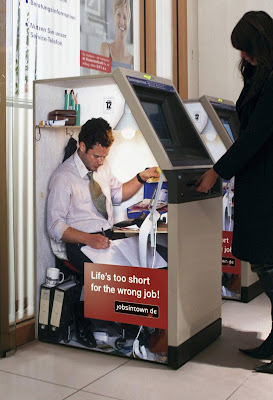 Cash Machine Advertisement