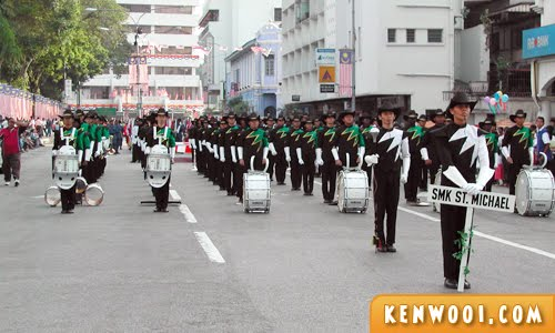 marching band parade