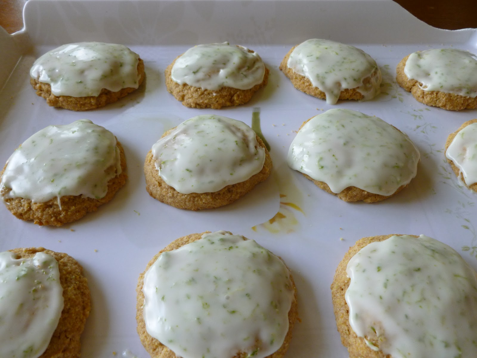 Wandering Voyager: Cornmeal Lime Cookies