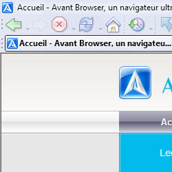 capture d'écran de Avant Browser