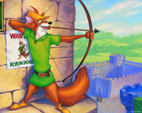 Robin Hood and Taxes