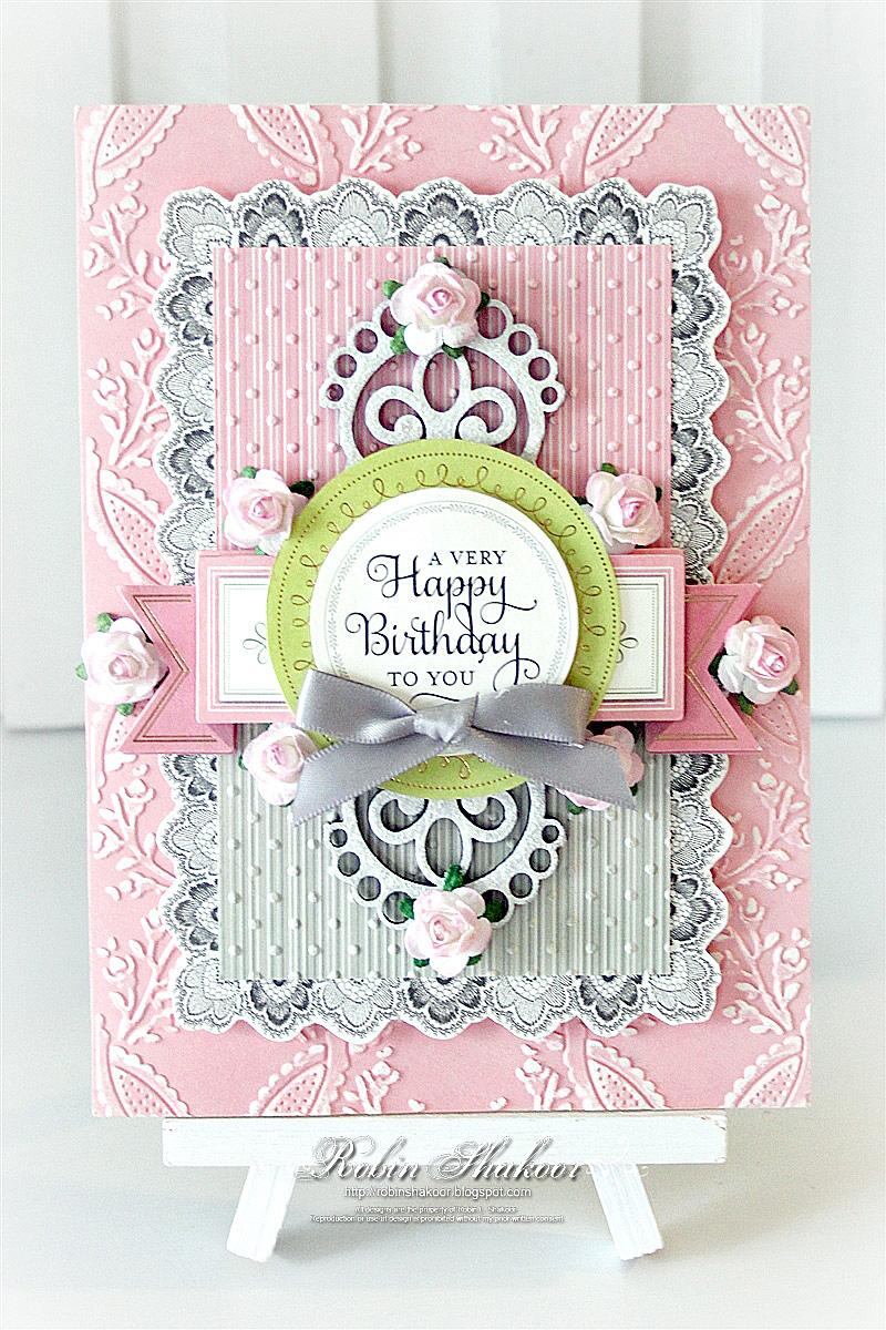 Designs By Robin Happy Birthday Card