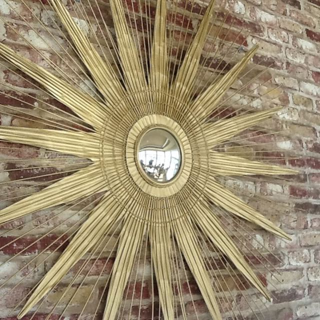 #thriftscorethursday Week 72 | Instagram user: marilynmcdermott shows off this Sunburst Mirror