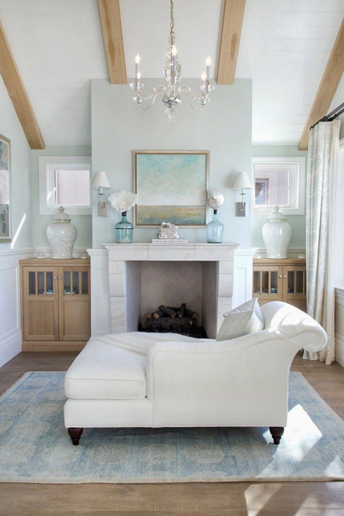 Coastal style hamptons style in aqua for Hamptons decor