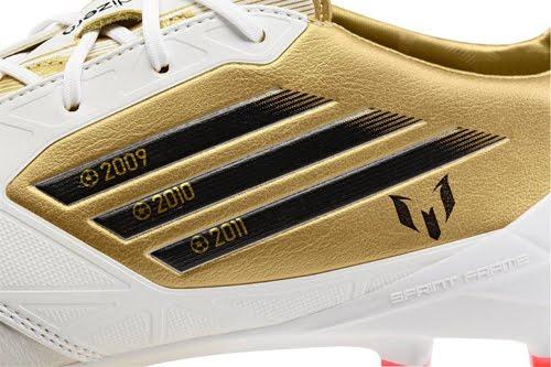 botas balón de Oro Messi