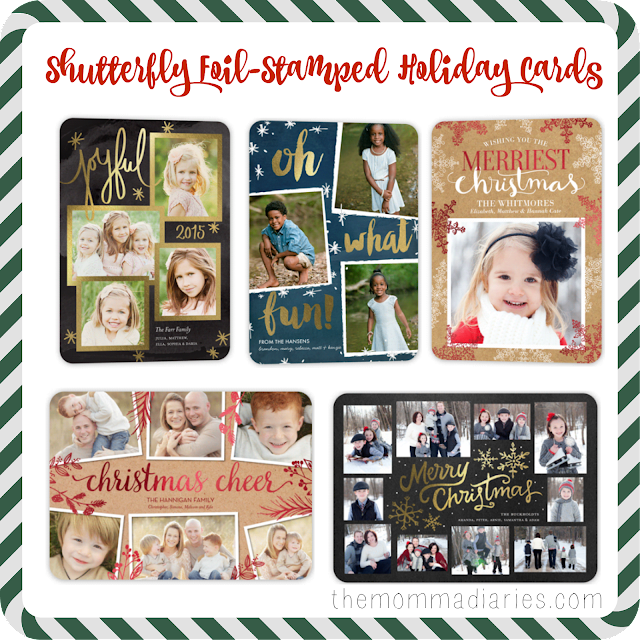Shutterfly Foil-Stamped Holiday Cards