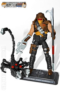 Hasbro GI Joe Club Exclusive Subscription Service 2.0 Desert Scorpion