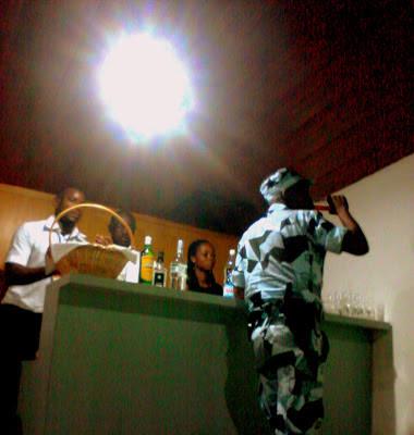 Gendarme qui boit alcool en service