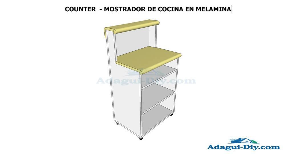 Planos de muebles como hacer muebles de cocina mueble for Hacer plano cocina