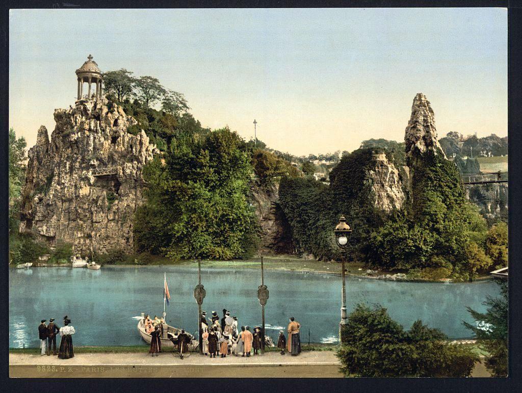 plateau hassard le histoire du parc des buttes chaumont