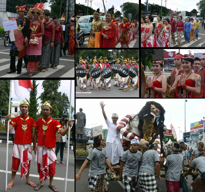 Gallery Pentas Seni Budaya Indonesia 2011 UKSW Salatiga - Photo