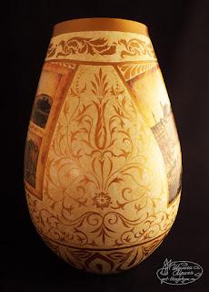 ваза, ампир, роскошная классика, оригинальный подарок на заказ