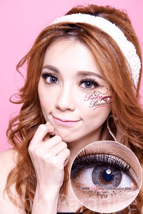 Mi Dali Extra Grey Toric Circle Lenses (Colored Contacts)
