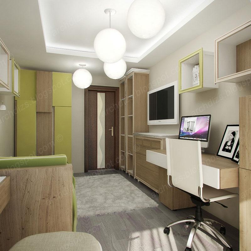 Дизайн вытянутой комнаты фото.
