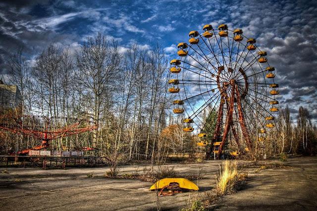 Green Pear Diaries, lugares abandonados, Prípiat, Ucrania
