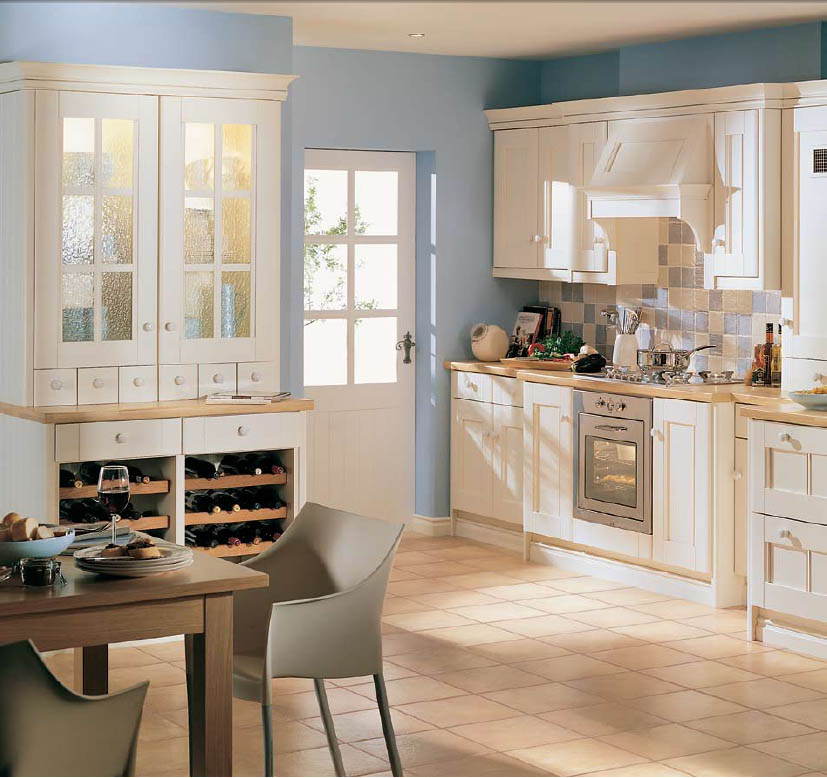 Modern furniture country style kitchens 2013 decorating ideas for Modern country kitchen design ideas