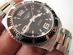 LONGINES HYDRO CONQUEST DIVER 300m BLACK DIAL - AUTOMATIC - FULLSET BOX AND PAPERS