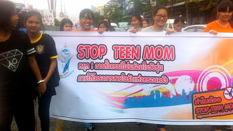 Teenagerschwangerschaften Thailand