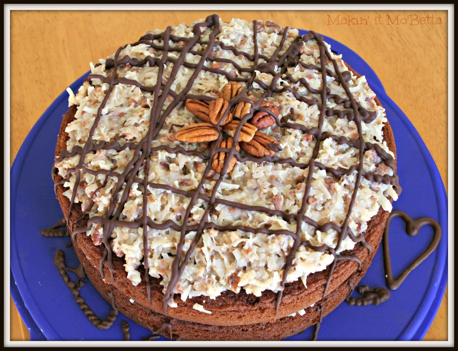 German Chocolate Cake - Makin' it Mo'Betta
