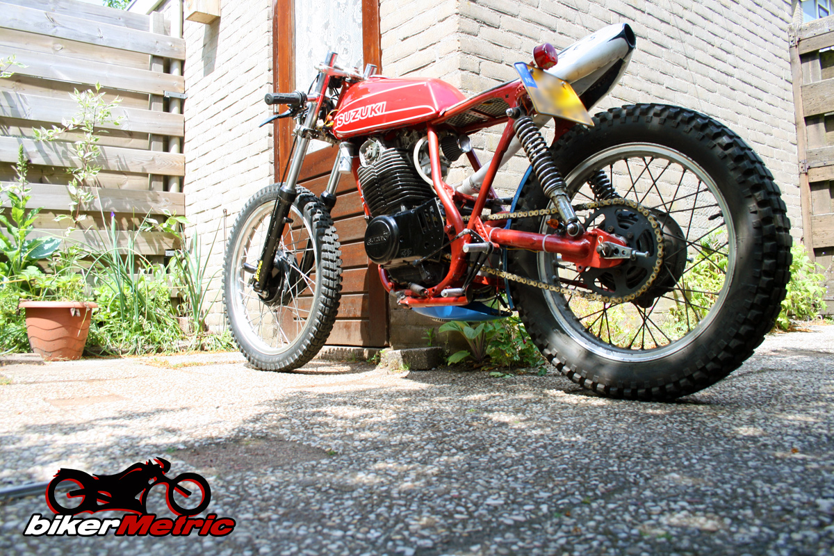 suzuki sp370 cafe racer | shed built bikes