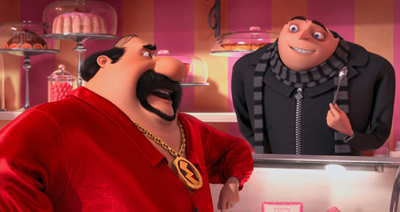 Gru and Eduardo Despicable Me 2 2013 animatedfilmreviews.blogspot.com