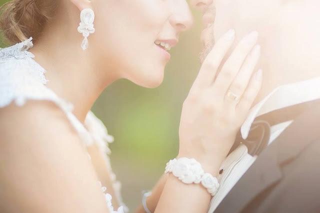biżuteria ślubna, kolczyki na ślub, ślubne, do ślubu, biżuteria ślubna sutasz, soutache, sutaszowa, swarovski, perły, PiLLow Design