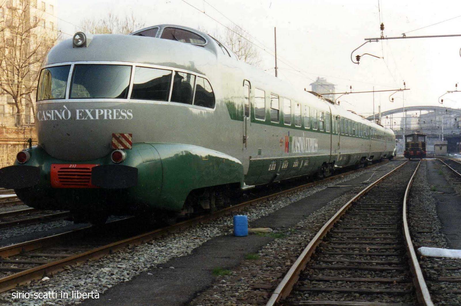Leonardo scatti in libert quando i treni erano rapidi - Treni torino porta susa ...
